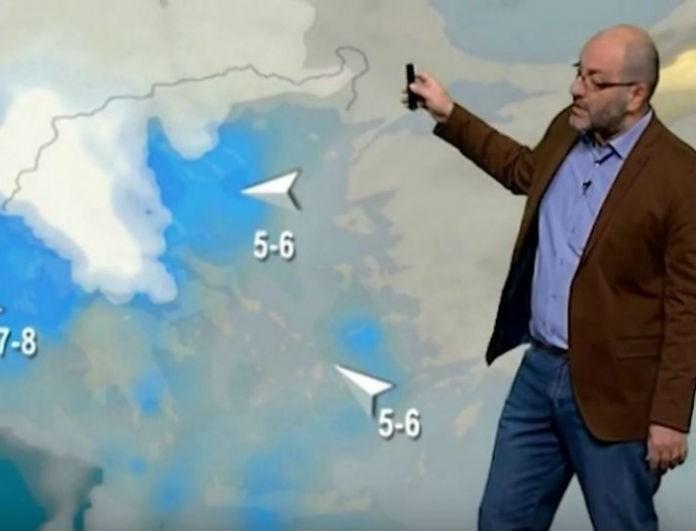 Ο Σάκης Αρναούτογλου προειδοποιεί: «Σε 4 μέρες έρχεται ο άσπρος χιονιάς...»!