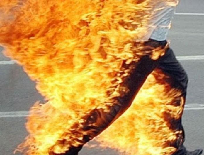 Φρίκη στην Αργολίδα: Δέθηκε σε στύλο και αυτοπυρπολήθηκε!