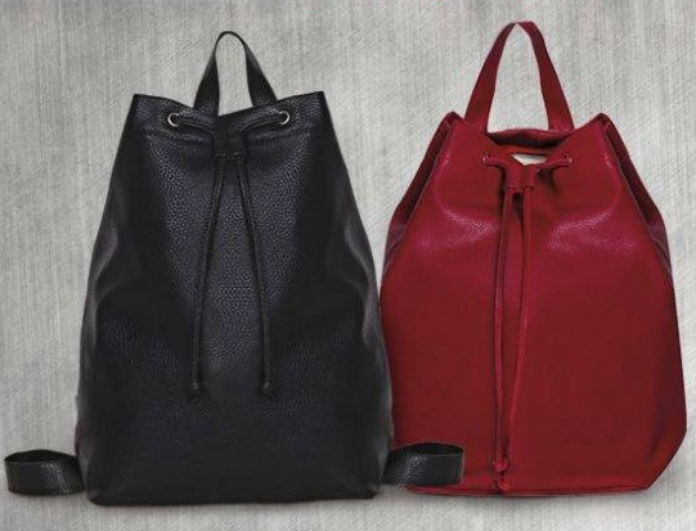 Super Διαγωνισμός: 5 τυχερές θα κερδίσετε από ένα κόκκινο Backpack!