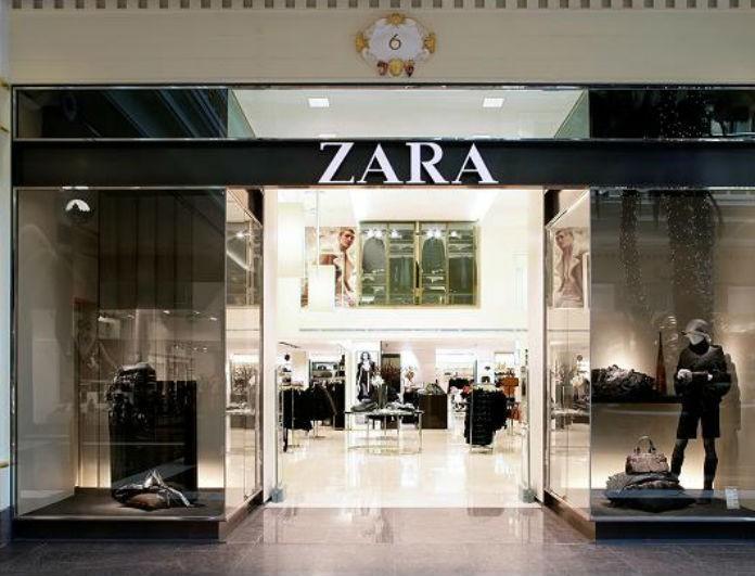 Zara: Αυτή η φούστα είναι μαύρη και έχει