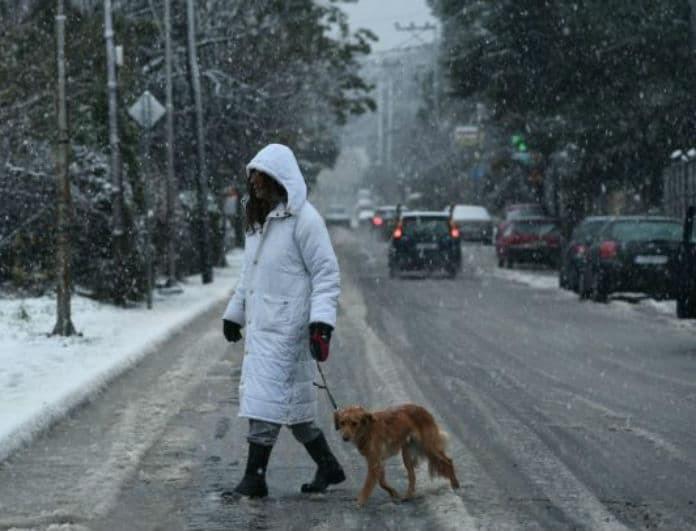 Καιρός: Έρχεται χιονιάς! Πτώση της θερμοκρασίας και χιόνια!