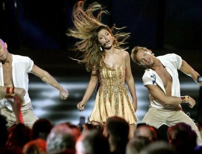 Έλενα Παπαρίζου: Δεν έχει φορέσει ποτέ κίτρινα στην Eurovision! Η εμφάνιση που θα μας χάριζε 12άρι αν την έκανε!