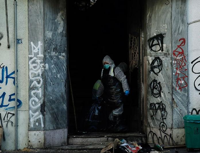 Αστυνομική επιχείρηση στην Λιοσίων: Εκκένωσης σε υπό κατάληψη κτήριο!