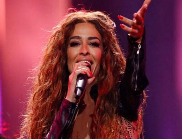 Ελένη Φουρέιρα: Η κολλητή ολόσωμη φόρμα της στην Eurovision είχε 590.000 κρύσταλλα! Τους είχε «τρελάνει» όλους πάνω στην σκηνή!