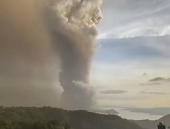 Τρόμος! Έτοιμο να εκραγεί το ηφαίστειο Ταάλ! Ειδικοί κρούουν καμπανάκι κινδύνου!