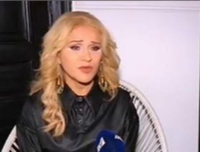 Μπέσυ Μάλφα: «Λύγισε» μπροστά στις κάμερες όταν αναφέρθηκε στον θάνατο της Έρρικας Μπρόγιερ! (Βίντεο)