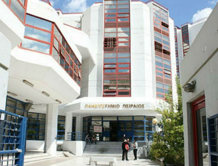 Έκτακτο! Επίθεση του Ρουβίκωνα στο Πανεπιστήμιο Πειραιά!