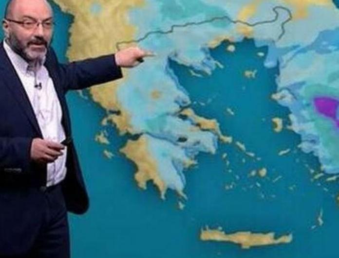 Ο Σάκης Αρναούτογλου προειδοποιεί: Χιόνια, ομίχλη και βροχές! Σε ποιες περιοχές;