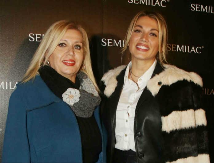 Κωνσταντίνα Σπυροπούλου: Μαμά και κόρη