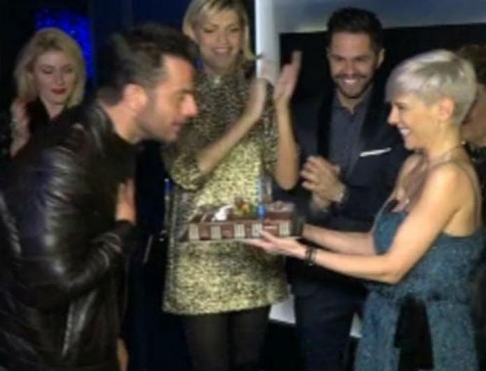 Γιώργος Αγγελόπουλος: Έκλεισε τα 38 και του έκαναν πάρτι έκπληξη για τα γενέθλια του!