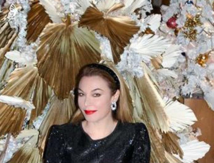 Τατιάνα Στεφανίδου: Τα μαύρα τακούνια της είναι τα πιο κλασικά που θα δεις! Κατάφερε όμως να τα αναδείξει...