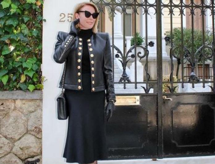 Τατιάνα Στεφανίδου: Το σπίτι της είναι σαν παλάτι! Η αγαπημένη της γωνία έχει χρυσό καθρέφτη...