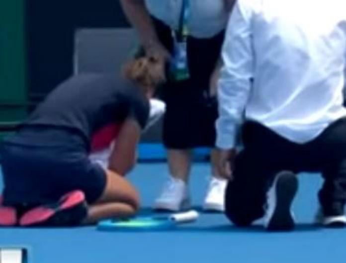 Εξελίχθηκαν σκηνές τρόμου σε αγώνα tennis! Κατέρρευσε παίκτρια...