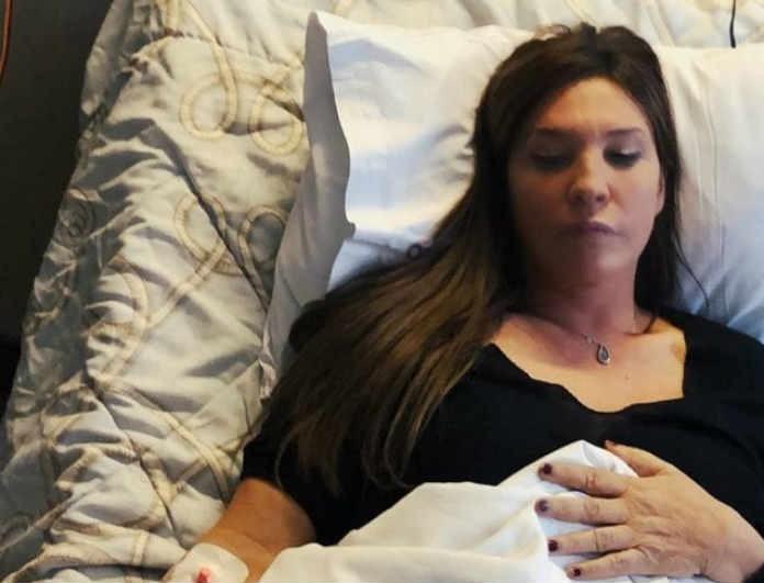 Βάνα Μπάρμπα: Οι πρώτες δηλώσεις μετά την εισαγωγή της στο νοσοκομείο!