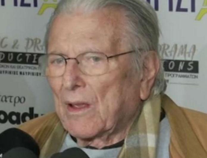 Κώστας Βουτσάς: «Πάγωσε» ο ηθοποιός στο άκουσμα του θανάτου της Μπρόγιερ! «Δεν μπορώ να μιλήσω...»
