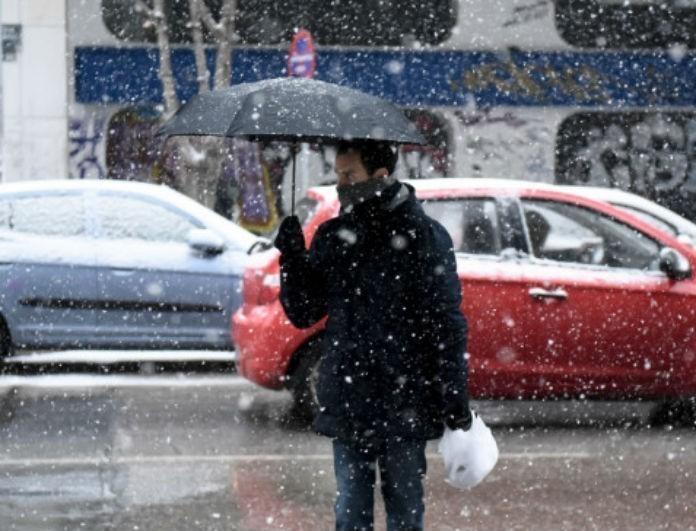 Καιρός: Βαρύς χιονιάς