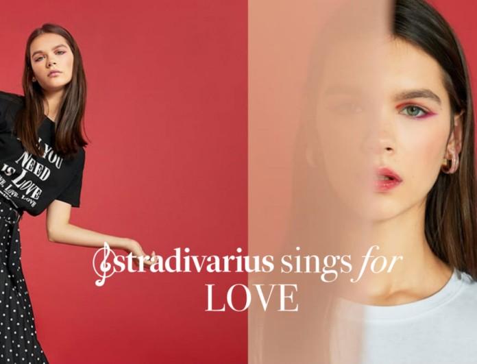 Τα Stradivarius σε ντύνουν την ημέρα των ερωτευμένων - Το σύνολο που θα τον