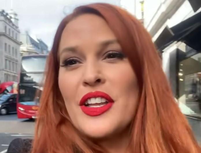 Σίσσυ Χρηστίδου: Ανέβασε βίντεο από το Λονδίνο - Περιμέναμε να δούμε τον Θοδωρή Μαραντίνη