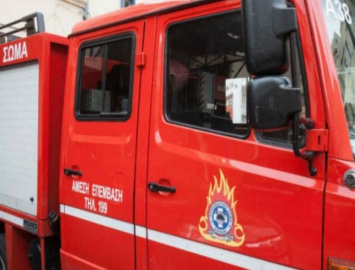 Λάρισα: Μεγάλη πυρκαγιά στη Μελιβοία
