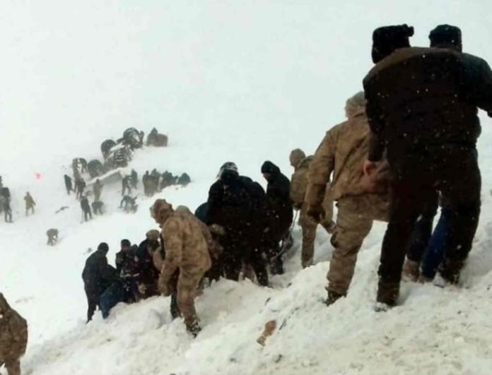 Τραγωδία στην Τουρκία: Στο φως τα πρώτα λεπτά μετά την χιονοστιβάδα!