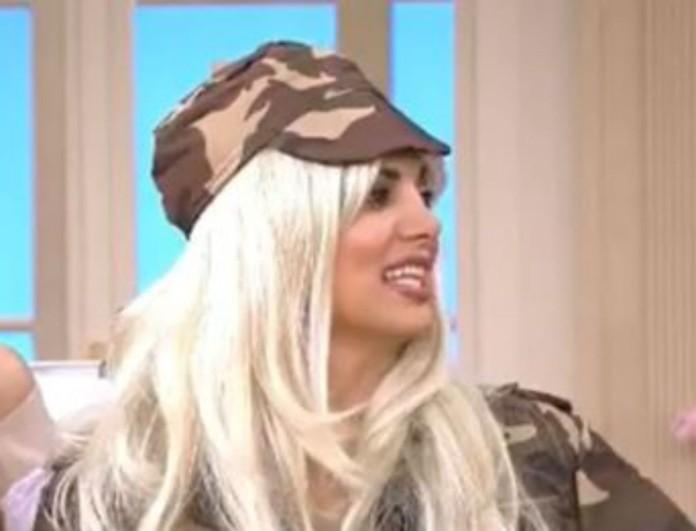 Εμφανίστηκε ξανθιά στο πλατό του Happy Day η Σταματίνα Τσιμτσιλή