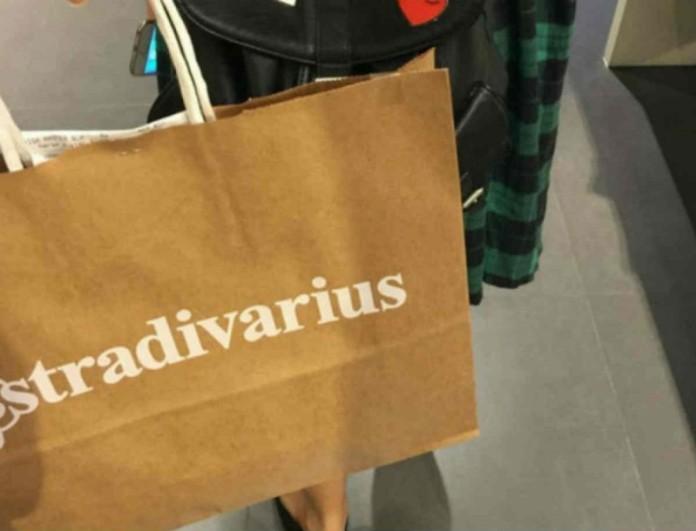 Μια μαύρη τσάντα κάνει πάταγο στα Stradivarius - Την έχει μέχρι και η Κιμ Καρντάσιαν