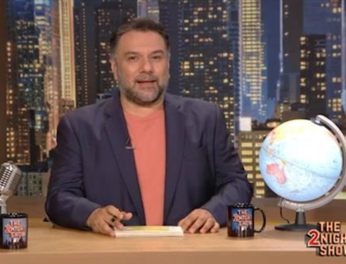 «Χτύπησε» κόκκινο ο Γρηγόρης Αρναούτογλου στον ΑΝΤ1 - Τα νούμερα τηλεθέασης για το The 2night show