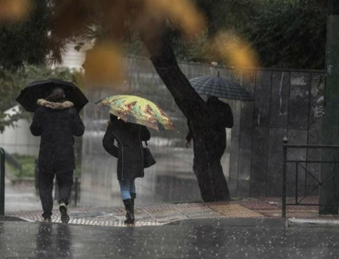 Έρχεται νέο κύμα κακοκαιρίας - Ισχυρές βροχές σε πολλές περιοχές
