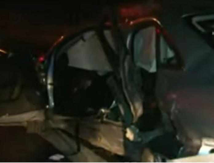 Ένας νεκρός μετά από τροχαίο στους Αγίους Θεοδώρους - Εικόνες σοκ από το αυτοκίνητο