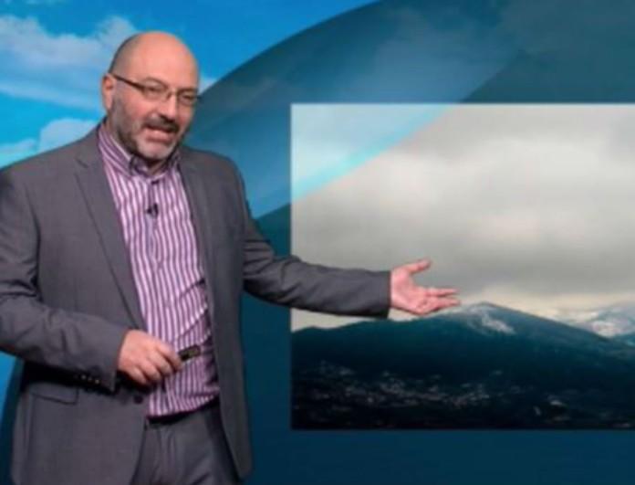 Χιόνια σε λίγες ώρες και στην Αθήνα - Ο Σάκης Αρναούτογλου προειδοποιεί