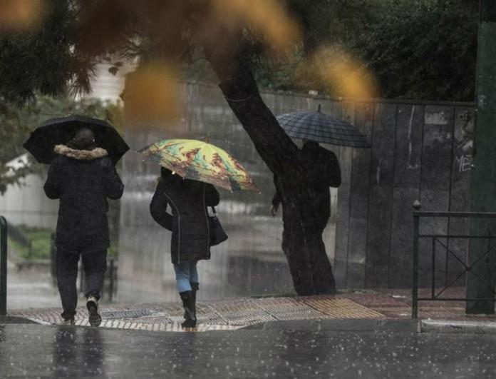 Καιρός: Έρχεται κακοκαιρία την Παρασκεύη! Καταιγίδες και ισχυροί άνεμοι