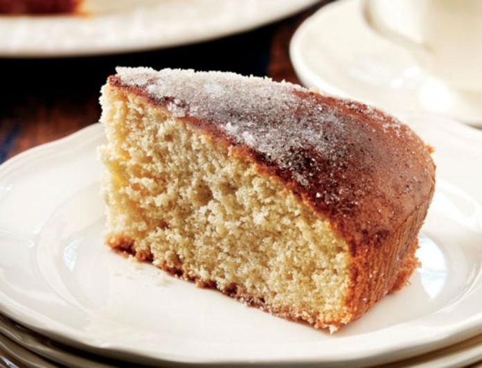 Αργυρώ Μπαρμπαρίγου: Το κέικ της με κανέλα είναι μια τρέλα - Δεν θα μείνει κομμάτι