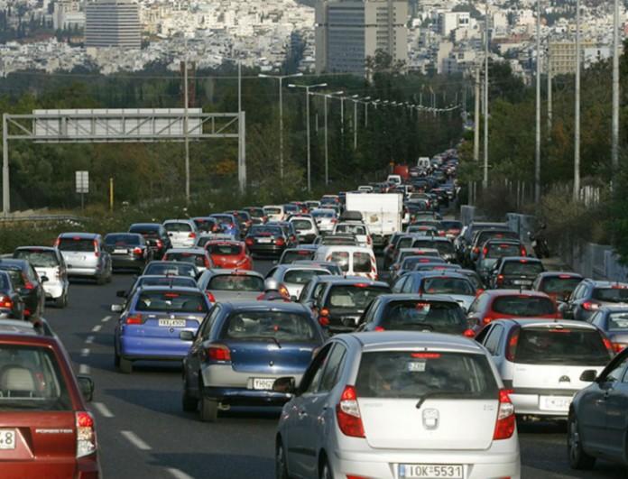 Χάος στους δρόμους της Αθήνας λόγω της απεργίας - Δεν κινείται τίποτα