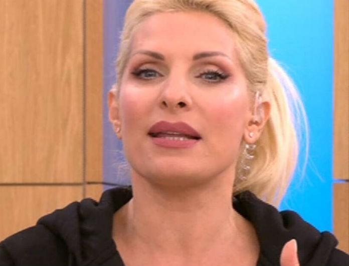 Ελένη Μενεγάκη: Στην τηλεόραση όπως δεν έχει εμφανιστεί ποτέ ξανά! Έβαλε κολάν και ξεκίνησε την γυμναστική στο πλατό!