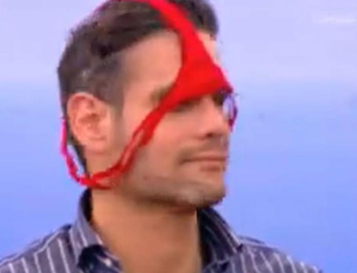 Σκηνή έπος στο Πρωινό - Έβαλε μικροσκοπικό εσώρουχο στο κεφάλι του ο Δημήτρη Ουγγαρέζος