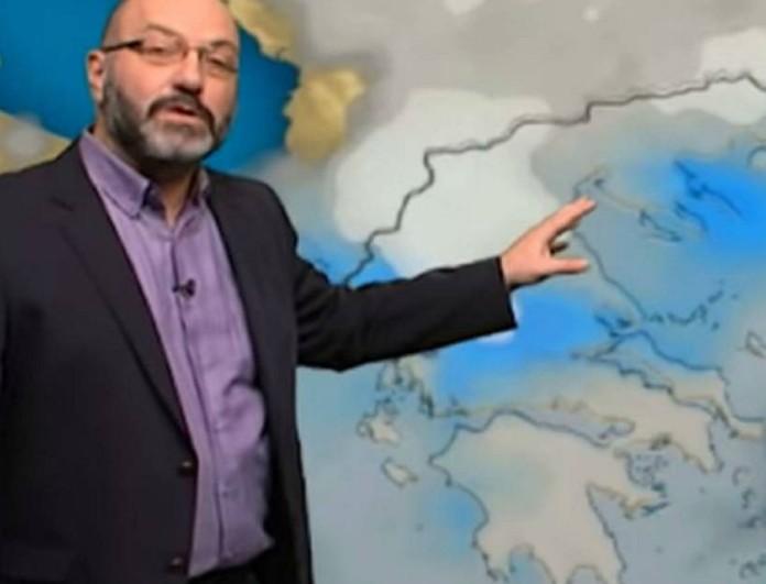 Ο Σάκης Αρναούτογλου προειδοποιεί - Σε ποιες χώρες έρχονται άνεμοι με ριπές;