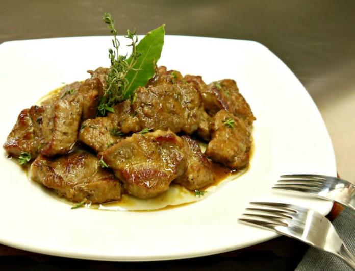 Χοιρινή τηγανιά με μπόλικο λεμόνι από την Βέφα Αλεξιάδου - Για μερακλήδες και κρασάκι