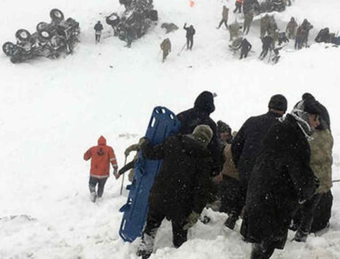Τραγωδία στην Τουρκία: Χιονοστιβάδα σκότωσε γκρουπ!