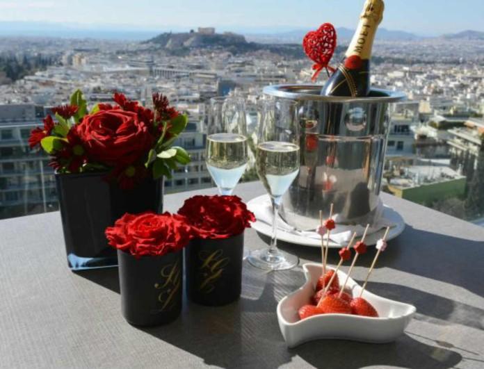 Μένεις στην Αθήνα; - Αυτά είναι τα καλύτερα μέρη για την ημέρα του Άγιου Βαλεντίνου
