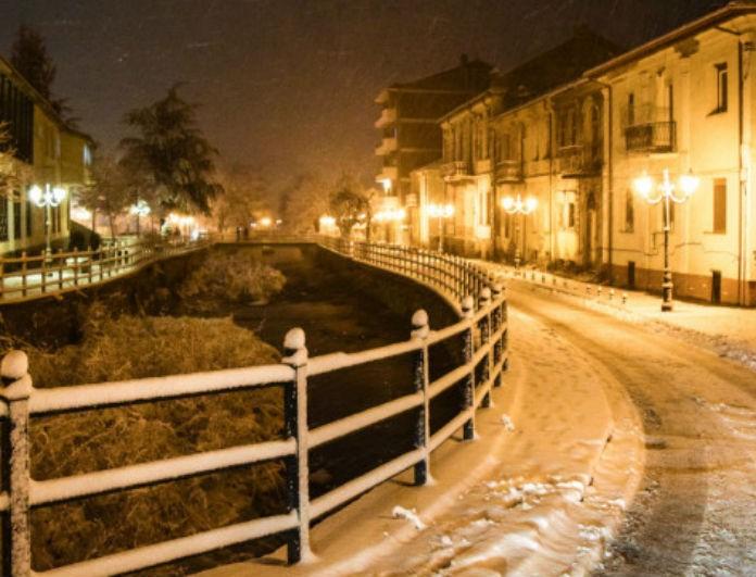 Μαγικές εικόνες: Πυκνή χιονόπτωση στην Φλώρινα!