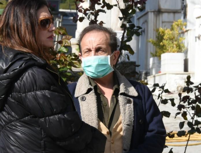 Σε βαθύ πένθος τελέστηκε η κηδεία του ηθοποιού Πάνου Χατζηκουτσέλη