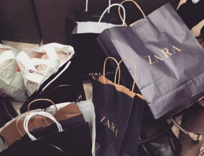Μοναδική βραδινή τσάντα από τη νέα συλλογή των Zara