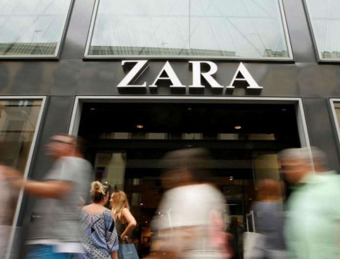 Στα Zara το πιο φανταχτερό κόκκινο φόρεμα