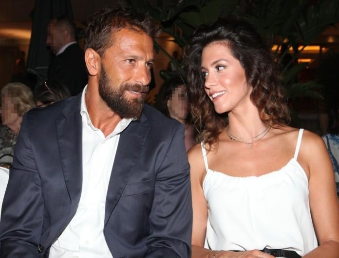 Ο Γιάννης Μαρακάκης και η Νίκη Θωμοπούλου ζούνε τον έρωτα με την πρώτη ματιά