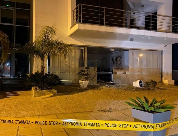 Εξερράγη βόμβα σε ειδησεογραφικό όμιλο της Κύπρου