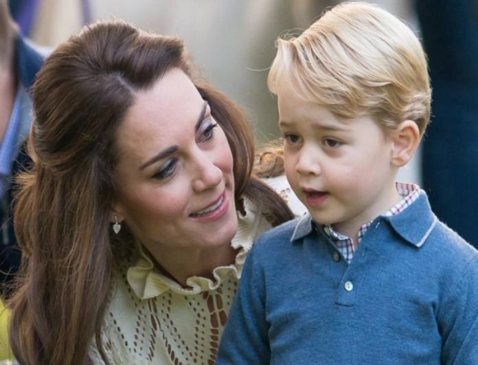 Η κίνηση που άφησε ακόμα και την Kate Middleton άφωνη - Τι έκανε ο πρίγκιπας George;