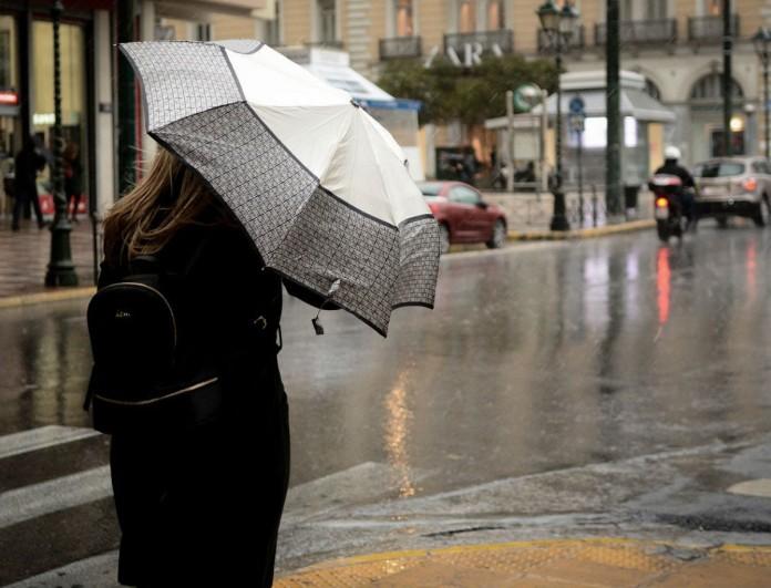 Εκτακτο δελτίο επιδείνωσης καιρού: Ερχονται ισχυρές βροχές και καταιγίδες