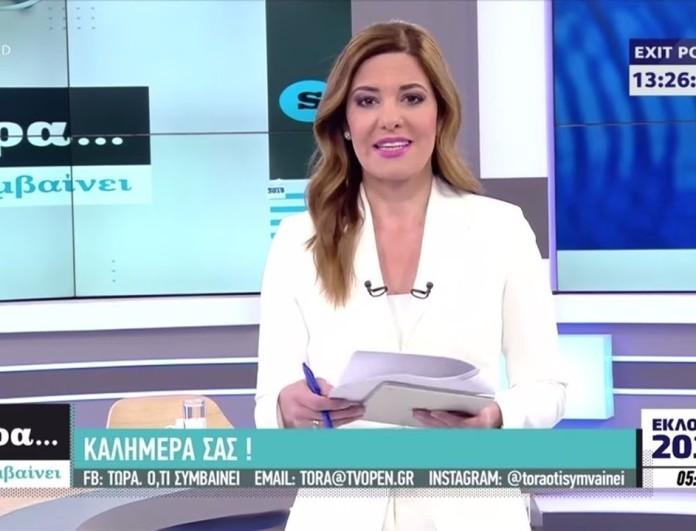 Σοκ με τα νούμερα της Φαίης Μαυραγάνη στο Opentv
