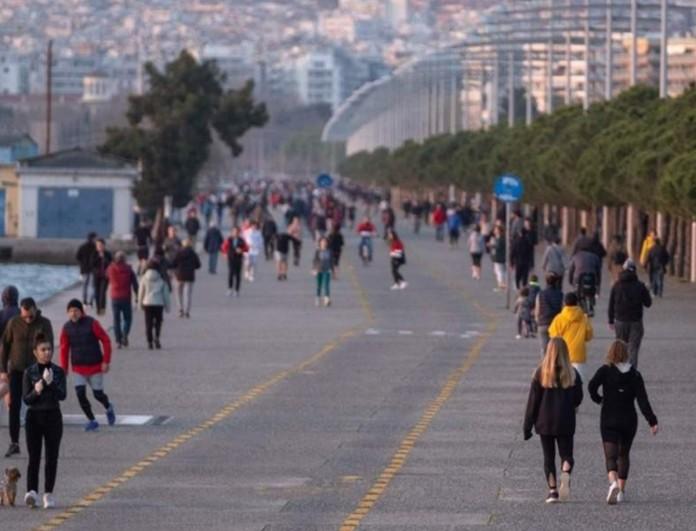 Απαγόρευση κυκλοφορίας: Κλείνει η παραλία της Θεσσαλονίκης λόγω του συνωστισμού