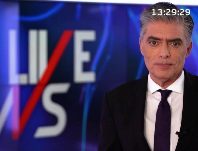 Έκρηξη στο Mega με τα νούμερα του Νίκου Ευαγγελάτου στο Live News